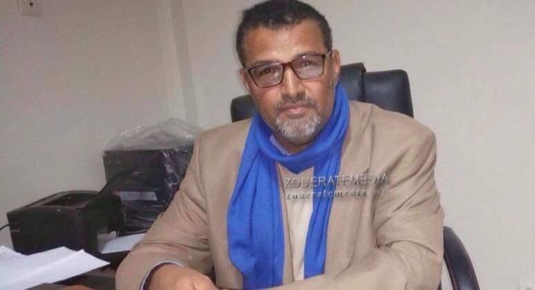 مدير الثانوية الفنية في ازويرات محمد محمود ولد مولود