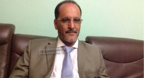مدير المصادر البشرية في شركة سنيم المهندس محفوظ ولد بوبني
